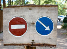 Go No Go sign. Signs, decision making, Go or NoGo decision Royalty Free Stock Image