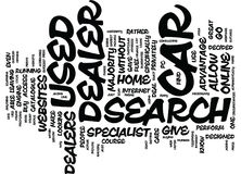 Go Online For Your Used Car Dealer Search Word Cloud Concept. Go Online For Your Used Car Dealer Search Text Background Word Cloud Concept Stock Images