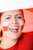 Go Poland! Royalty Free Stock Images