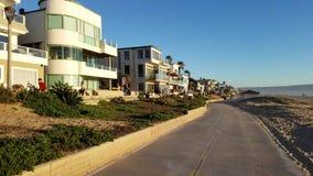 Go Pro Bike Ride Along the Beach 4k stock footage