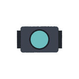go pro video camera icon Royalty Free Stock Images
