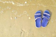 Go se relaja en la playa imagen de archivo libre de regalías