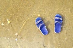 Go se relaja en la playa 2 Imagen de archivo