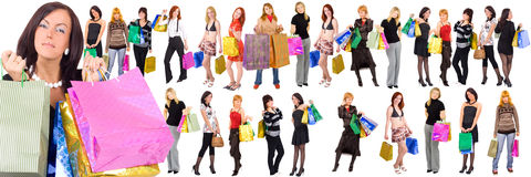 Go shopping Stock Photos