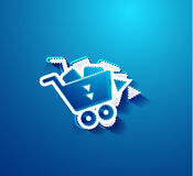 Go shopping concept. Vector EPS10 illustration Royalty Free Stock Photo