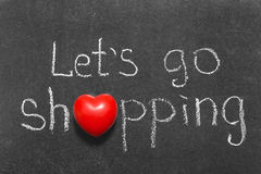 Go shopping Royalty Free Stock Images