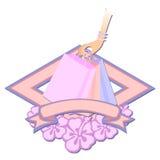 Go shopping logo Stock Photo