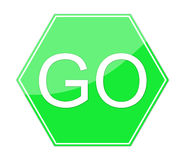 Go Sign Stock Images