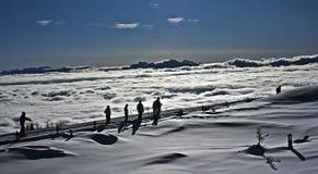 Go for ski Stock Photography