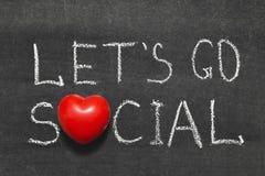 Go social royalty free stock photography