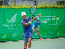Go SOEDA Japan in the finals of Wind Energy Holding Bangkok Open 2016 Stock Image