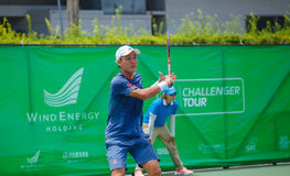Go SOEDA Japan in the finals of Wind Energy Holding Bangkok Open 2016 Royalty Free Stock Photos