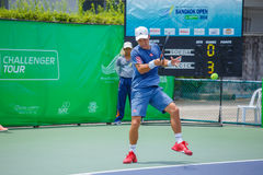 Go SOEDA Japan in the finals of Wind Energy Holding Bangkok Open 2016 Royalty Free Stock Images