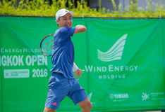 Go SOEDA Japan in the finals of Wind Energy Holding Bangkok Open 2016 Stock Photos