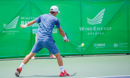Go SOEDA Japan in the finals of Wind Energy Holding Bangkok Open 2016 Royalty Free Stock Image