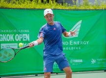 Go SOEDA Japan in the finals of Wind Energy Holding Bangkok Open 2016 Stock Photography