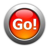 Go or start button Stock Photo