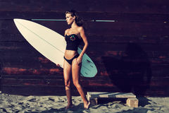Go for a surfe Royalty Free Stock Images