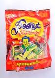 Goût de sucrerie croquante d'arachide bon Photos libres de droits