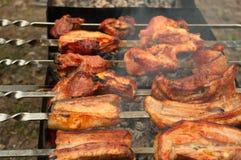 Goûtez une viande image libre de droits