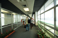 Go to boarding. Chiang mai international airport Royalty Free Stock Image