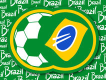 Go to Brazil Royalty Free Stock Photography