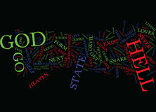 Go To Hell Word Cloud Concept Stock Photo