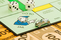 Go to jail? Royalty Free Stock Photography