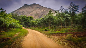 Go to. Mountain in thailand Royalty Free Stock Image