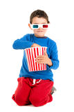 Go to the movies Stock Photography