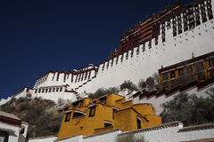 Go to Potala Palace Royalty Free Stock Photo