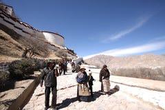Go to Potala Palace Stock Image