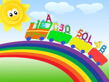 Go to school background Royalty Free Stock Photography