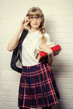 Go to school Royalty Free Stock Images