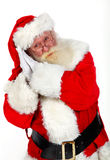Go to sleep santa says Stock Photos