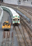 Toronto Go Transit Train Stock Photo