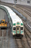 Toronto Go Transit Train Stock Images