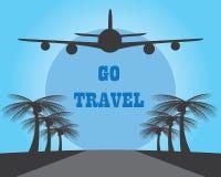 Go travel by plane Stock Photos