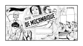 Goûts de la Mozambique Image stock