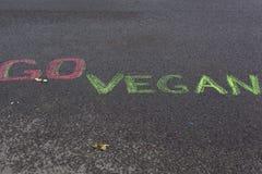 Go vegan! Healthy concept. Royalty Free Stock Photos
