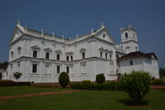 Goa的Se大教堂 免版税库存图片