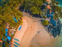 Goa αεροπορικώς Στοκ εικόνα με δικαίωμα ελεύθερης χρήσης