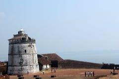 goa Ινδία οχυρών aguada Στοκ Φωτογραφίες