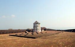 goa Ινδία οχυρών aguada Στοκ φωτογραφίες με δικαίωμα ελεύθερης χρήσης