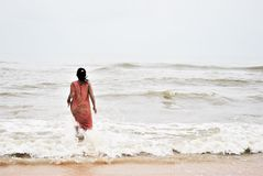 Goa, песок & море Стоковое Фото