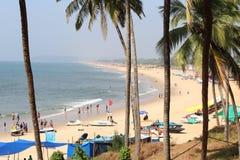 Goa Baga Photographie stock libre de droits