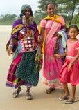 Goa beach sellers. India Stock Photos