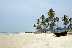 Goa Beaches Colva. Tourist spots in India : Goa Beaches Colva Stock Photo