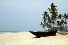 Goa Beaches Colva Stock Images