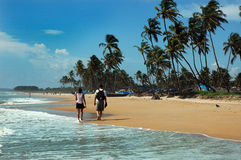 Goa Beaches in India Royalty Free Stock Images
